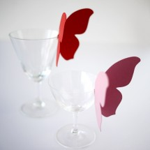 Papillon, déco de table